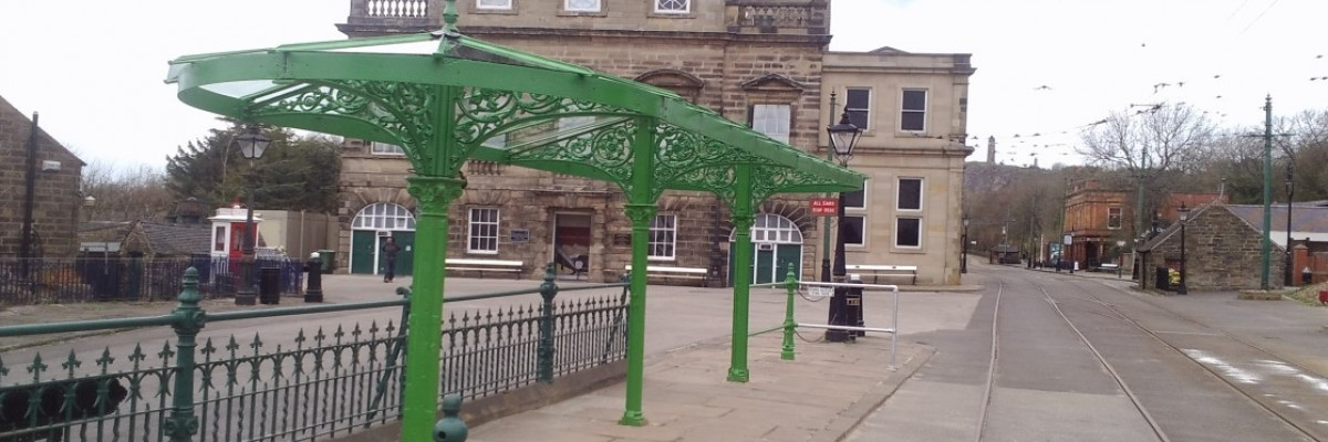 Tramyway Canopy Reinstalled