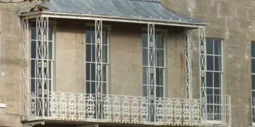 Balcony restoration at Somerset Place