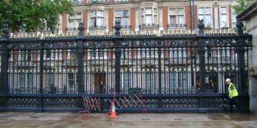 British Museum Gate and Railing Repairs