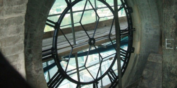 Cast Iron Clock Face Restoration