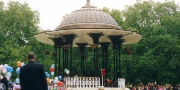 Design and new build bandstand with copper roof