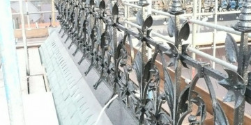 Ornate Wrought Iron Restorations at Chester Town Hall