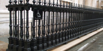 Victorian Cast Iron Railing Restoration